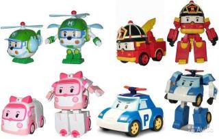 Трансформер Robocar Poli (Робокар Поли)                                                                                         (Имя персонажа: Поли,  Цвет: Синий)