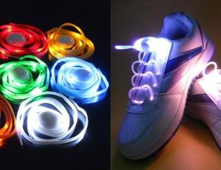 Светящиеся шнурки                                                                                          (Цвет: Зеленый  )