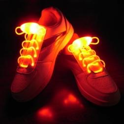Светящиеся шнурки                                                                                          (Цвет: Оранжевый  )