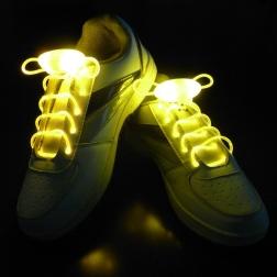 Светящиеся шнурки                                                                                          (Цвет: Желтый  )