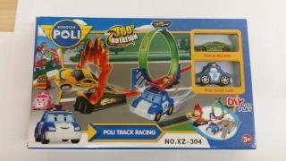 Гоночный трек Поли Робокар (Poli Robocar) Арт.XZ-304                                                                                         (Название: Гоночный трек Поли Робокар (Poli Robocar) Арт.XZ-304  )