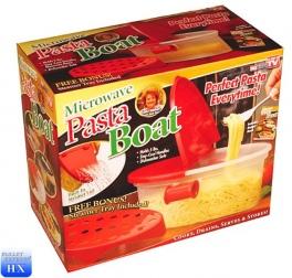 """Контейнер для приготовления блюд в микроволновой печи """"PASTA BOAT""""                                                                                         (-: 1  )"""