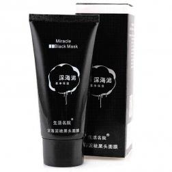 Черная маска пленка от черных точек Miracle Black Mask 60 гр.                                                                                         (Название: Черная маска пленка от черных точек Miracle Black Mask 60 гр.  )