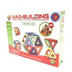 Магнитный конструктор MAG BUILDING, 20 деталей                                                                                         (1: -  )