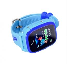 Умные детские водонепроницаемые часы Smart Baby Watch DF25G (GW400S)                                                                                         (Цвет: Голубой  )