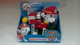 Игрушка Щенячий Патруль (Paw Patrol) МАРШАЛ с водяными стрелами Арт. АК                                                                                         (-: 1  )