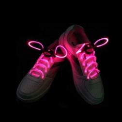 Светящиеся шнурки                                                                                          (Цвет: Розовый  )