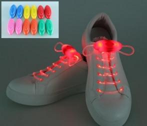 Светящиеся шнурки                                                                                          (Цвет: Красный  )