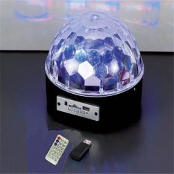 Светодиоидный диско - шар LED CRYSTAL MAGIC BALL LIGHT                                                                                         (1: -  )