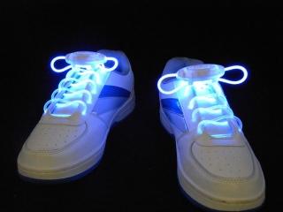 Светящиеся шнурки                                                                                          (Цвет: Синий   )