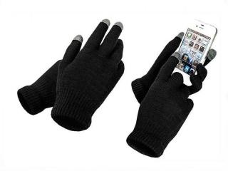 Перчатки для сенсорных экранов                                                                                         (Цвет: Красный  )