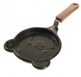 Фигурная мини-сковорода с антипригарным покрытием                                                                                         (Форма: Мишка  )